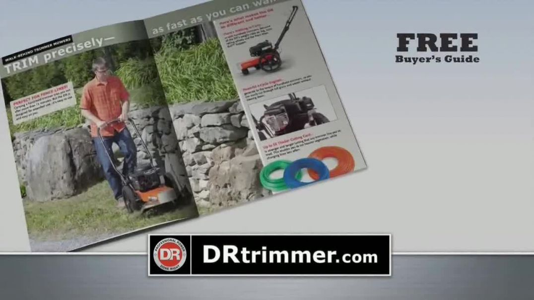 DR Power Equipment Trimmer TV Commercial Ad 2020, Does It All- Six Month Trial
