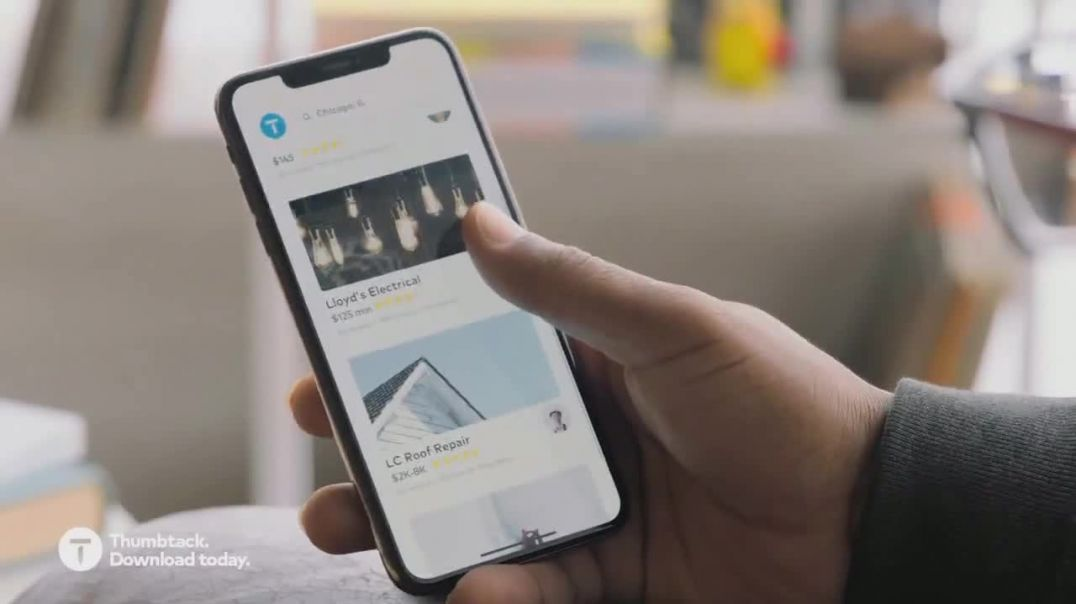 Thumbtack TV Commercial Ad 2020, King of the Leaking Castle