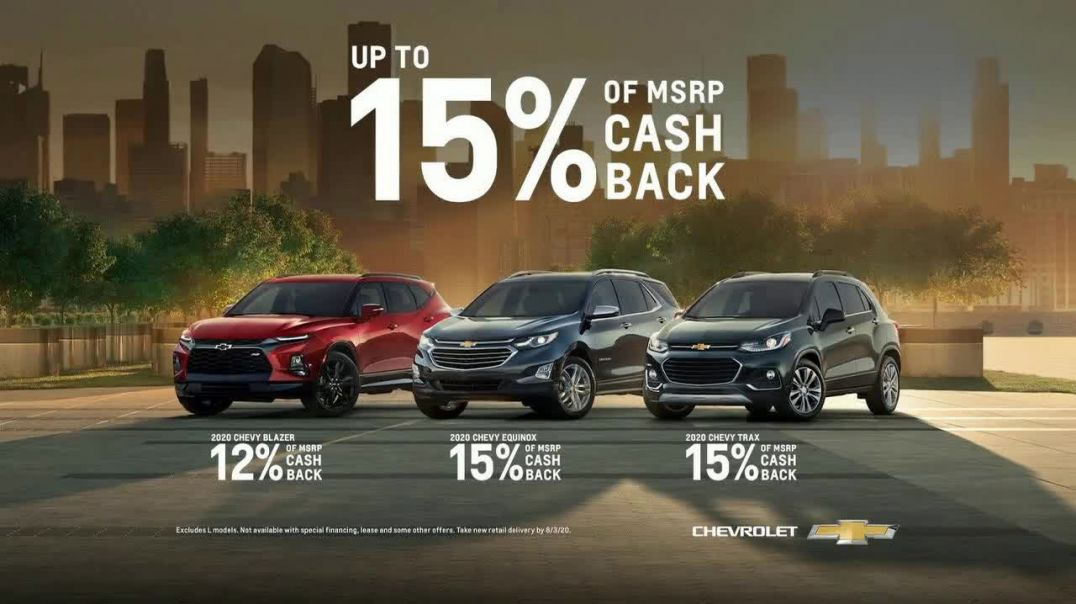 Chevrolet Open Road Sales Event TV Commercial Ad 2020, Find New Roads, Again]