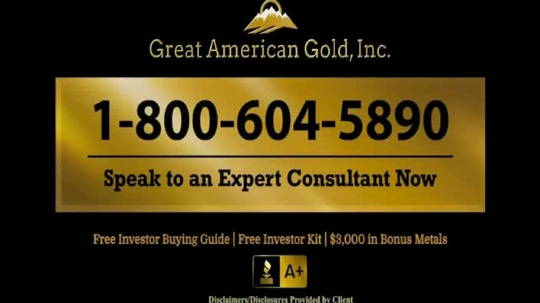 Great American Gold, Inc TV Commercial Ad 2020, What Will Happen With the Next Crisis-