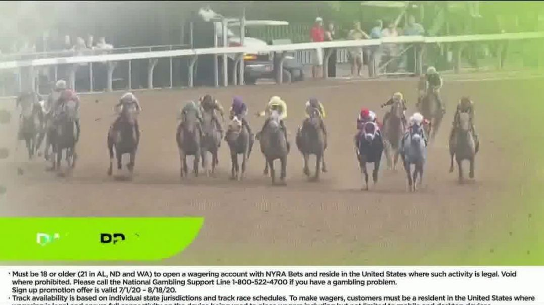 NYRA Bets TV Commercial Ad 2020, High Speed Action- $200 Deposit Match
