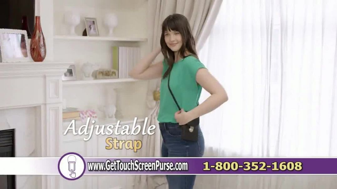 Touch Screen Purse TV Commercial Ad 2020, Incredible New Way Ft Lori Greiner