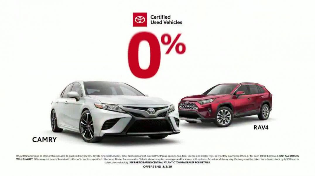 Toyota Certified Used Vehicles TV Commercial Ad 2020, Authorized Dealer