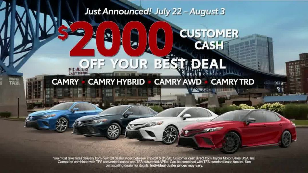 Toyota TV Commercial Ad 2020, Welcome Back, America