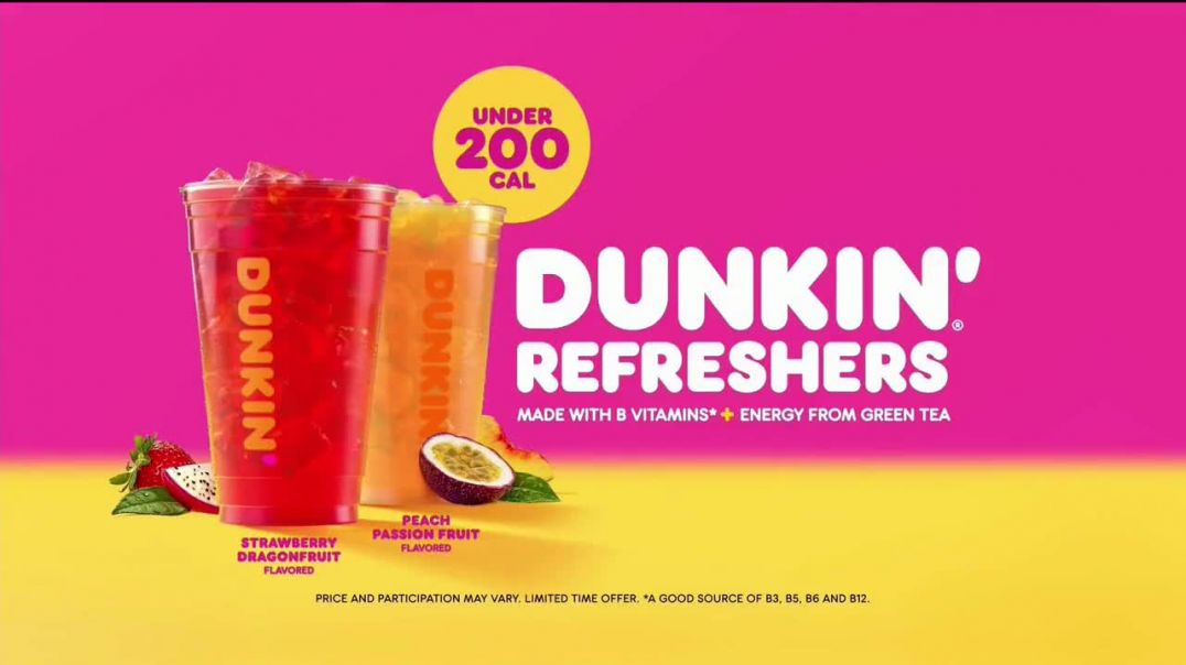 Dunkin Refreshers TV Commercial Ad 2020, Get Your Glow Back- 200 Calories