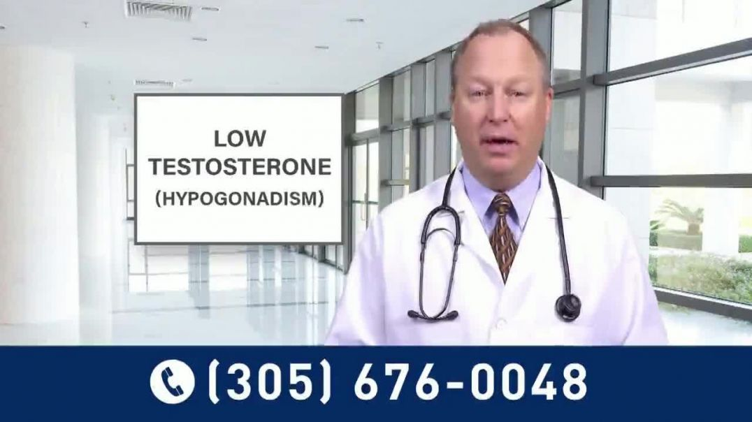 Low Testosterone Study TV Commercial Ad 2020, Underway