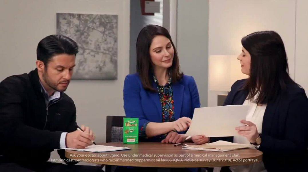 IBgard TV Commercial Ad 2020, Office- Pain or Discomfort