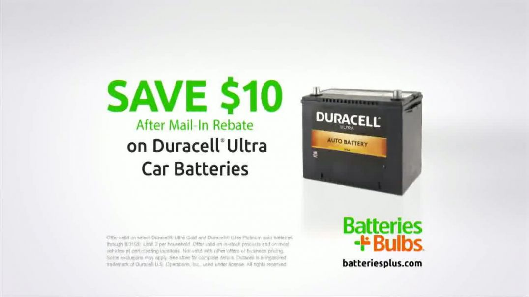 Batteries Plus TV Commercial Ad 2020, Do More- Save $10 on Duracell Ultra Car Batteries