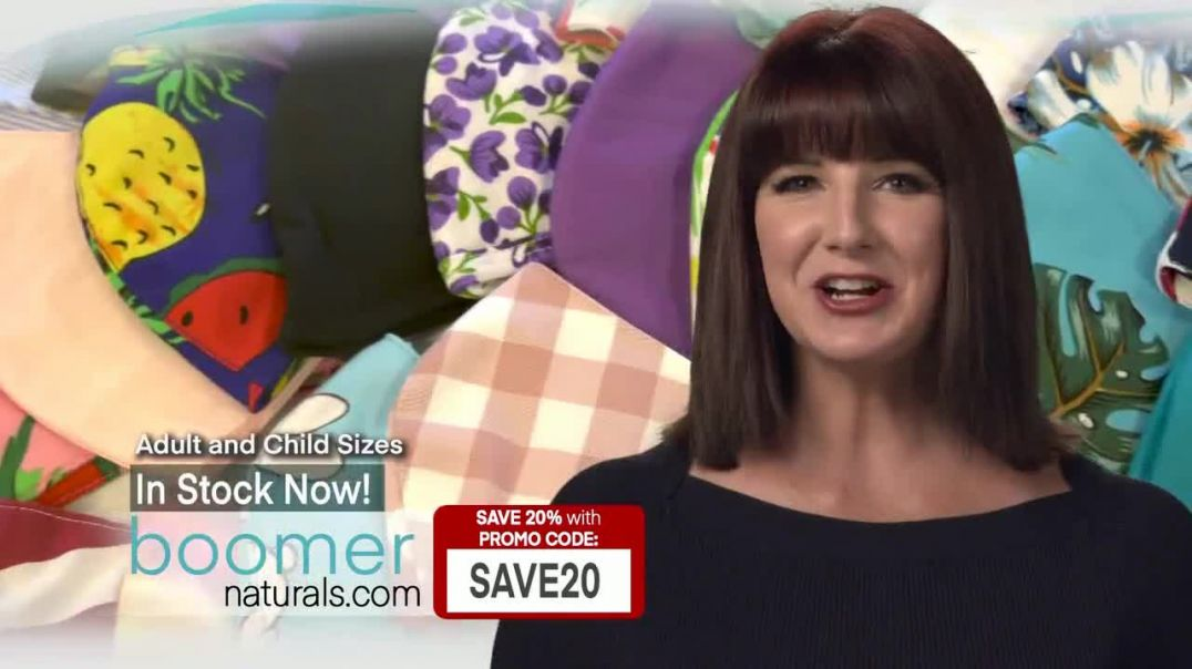 Boomer Naturals TV Commercial Ad 2020, Comfortable, Breathable and Protective