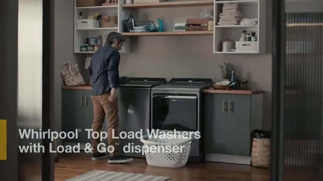 Whirlpool TV Commercial Ad 2020, Load & Go- Skip Adding Detergent