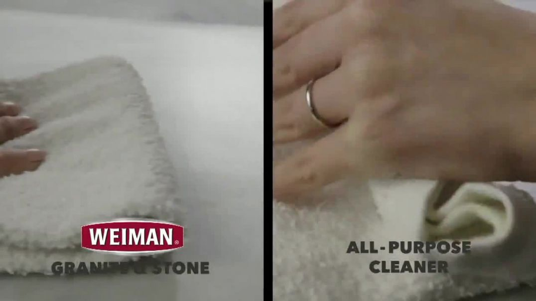 Weiman Disinfectant Granite & Stone Daily Clean & Shine TV Commercial Ad 202