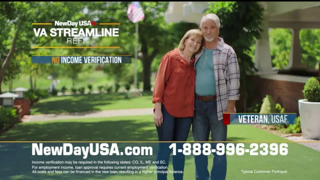 NewDay USA TV Commercial Ad 2020, Mortgage Rates Are Falling Even Lower