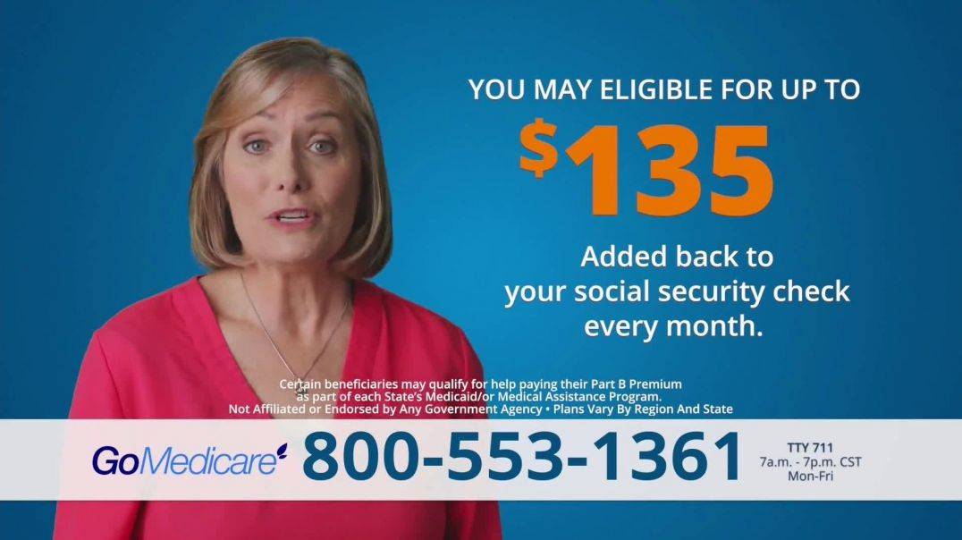 GoMedicare TV Commercial Ad 2020, Get Benefits