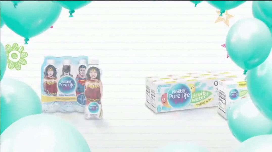 Pure Life TV Commercial Ad 2020, 12-Step Process- Box Tops