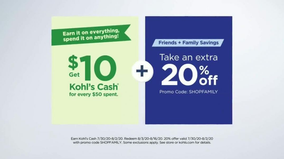 Kohls Friends + Family Sale TV Commercial Ad 2020, Keurig, Bedding and Activewear