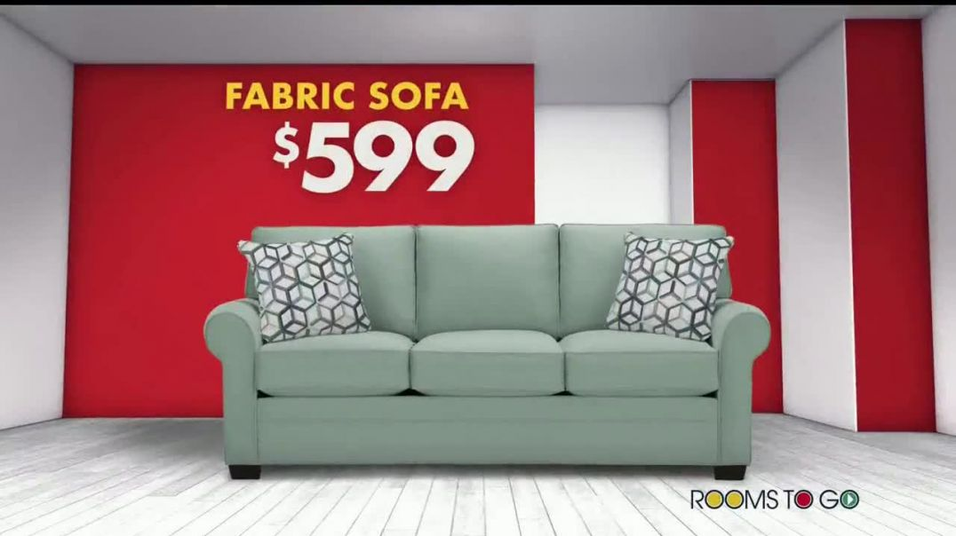 Rooms to Go Storewide Sofa Sale TV Commercial Ad 2020, Big Savings- Fabric and Sleepers Song by Juni