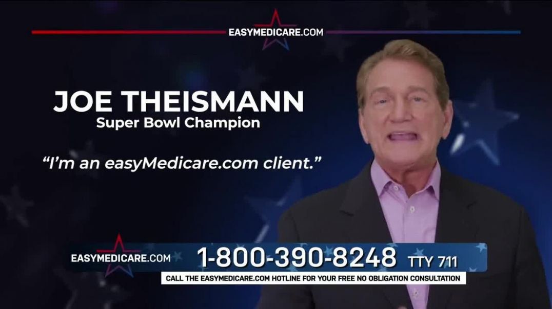 easyMedicarecom TV Commercial Ad 2020, How Much Do You Know Featuring Joe Theismann