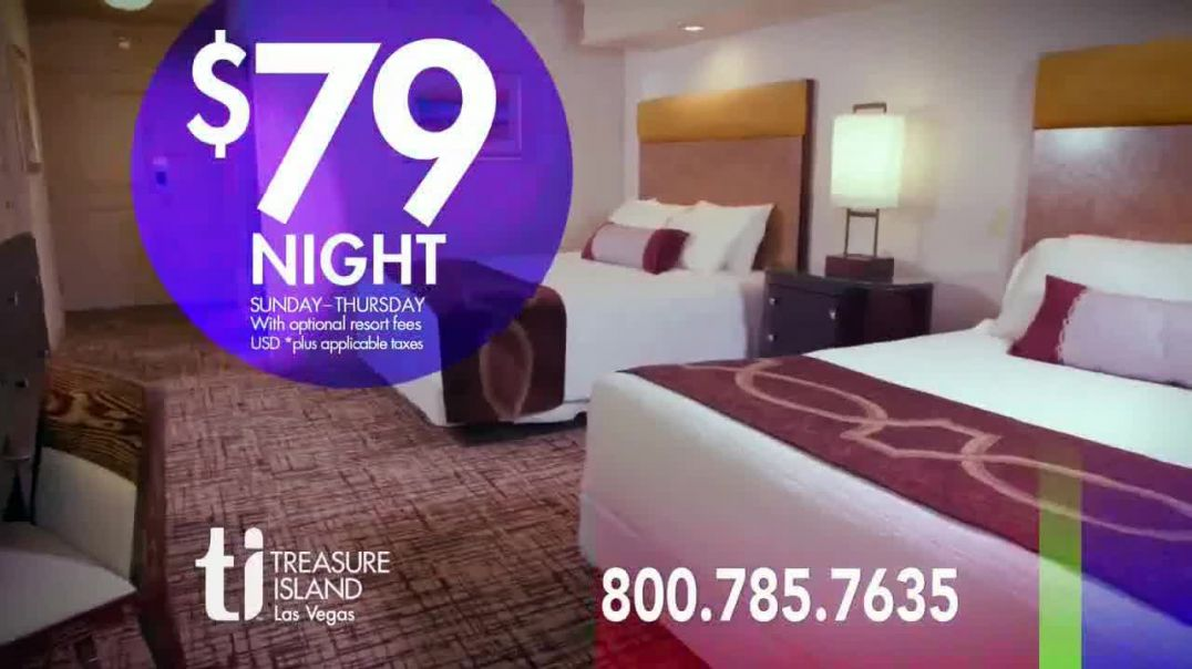 Treasure Island Hotel & Casino TV Commercial Ad 2020, The Most Exciting City on the Plan