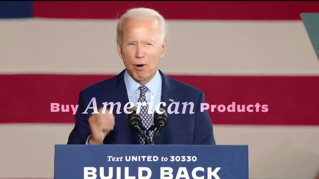 Biden for President TV Commercial Ad 2020, Made in America