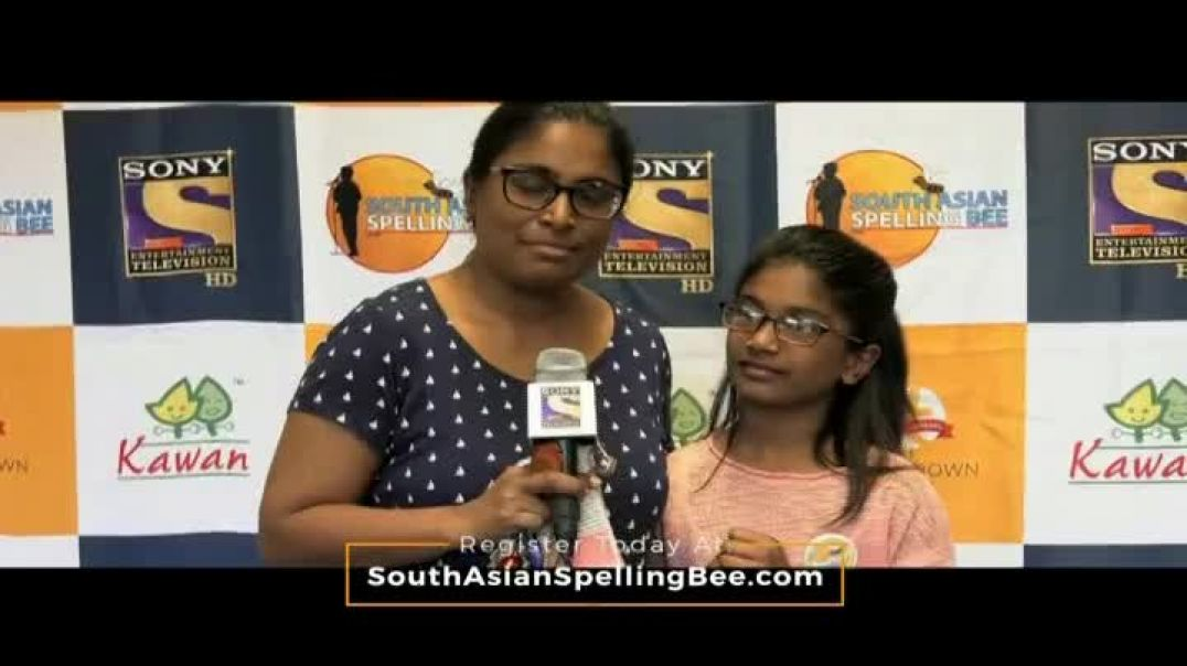 South Asian Spelling Bee TV Commercial Ad 2020, SASB Parents Challenge