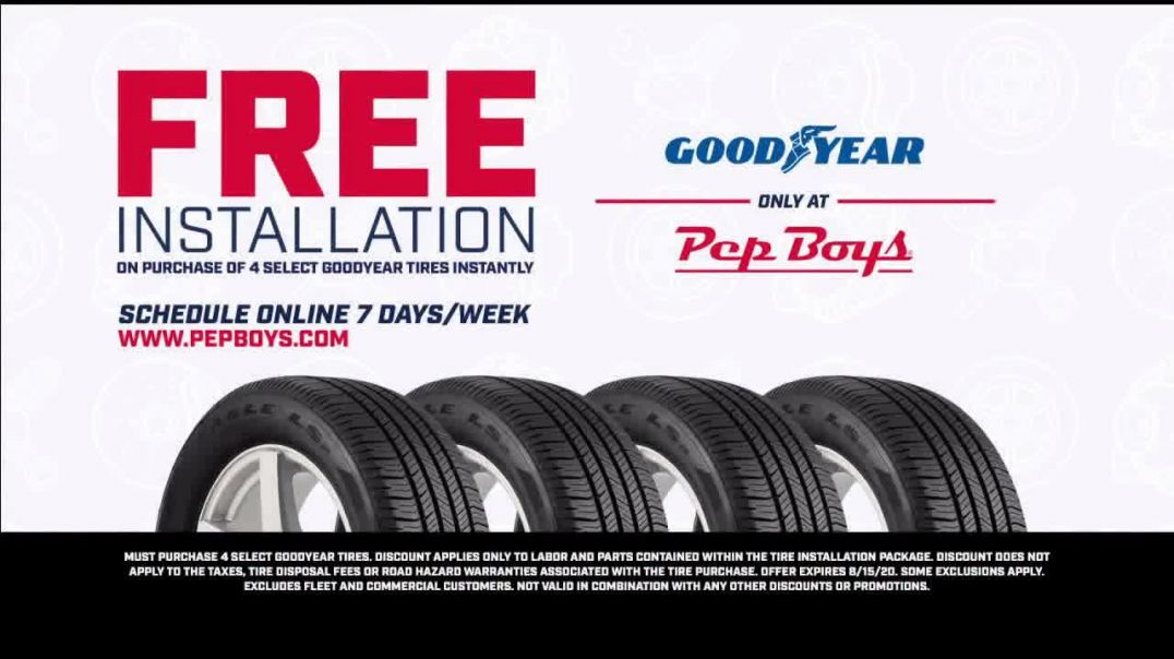 PepBoys TV Commercial Ad 2020, Doorway to the World- Goodyear