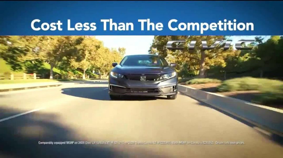 Honda Summer Clearance Event TV Commercial Ad 2020, Less Than the Competition