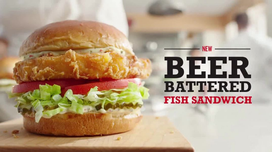 Arbys Beer Battered Fish Sandwich TV Commercial Ad 2020, Reinvented Song by YOGI