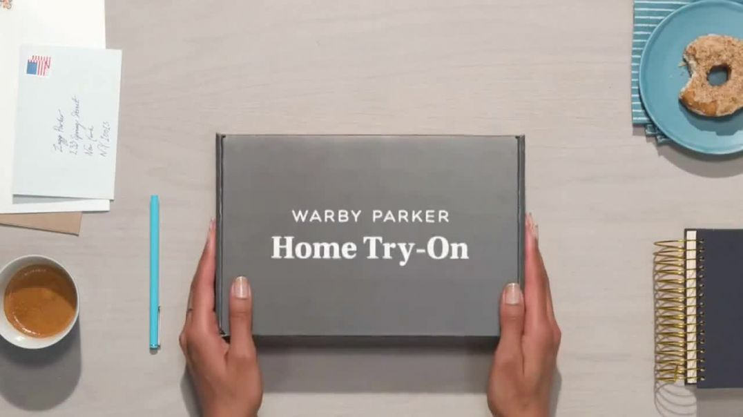 Warby Parker TV Commercial Ad 2020, Home Try-On- Prescription Lenses