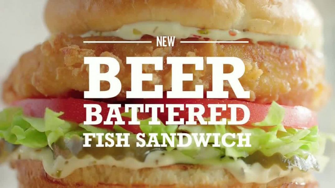 Arbys Beer Battered Fish Sandwich TV Commercial Ad 2020, Competition Song by YOGI