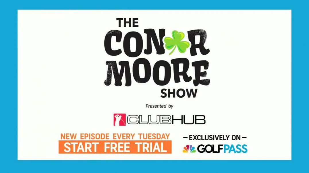 GolfPass TV Commercial Ad 2020, The Conor Moore Show