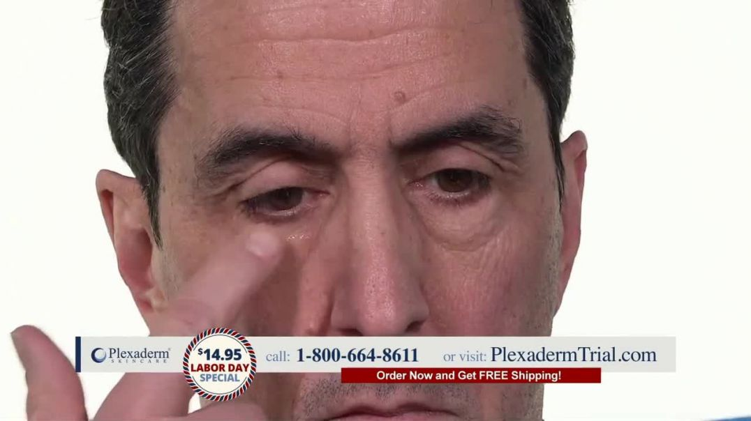 Plexaderm Skincare Labor Day Special TV Commercial Ad 2020, See it Work- $1495