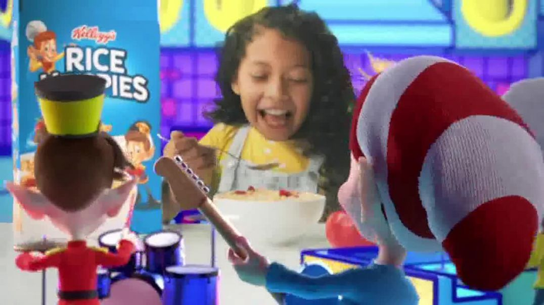 Rice Krispies TV Commercial Ad 2020, Pop to Life