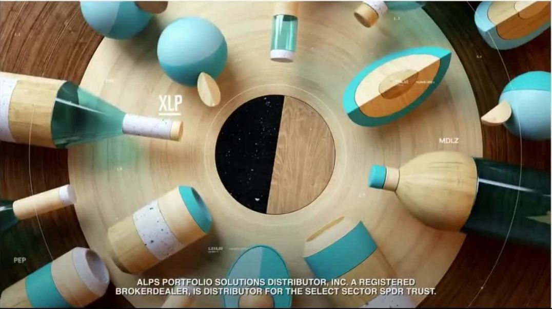 Select Sector SPDRs XLP TV Commercial Ad 2020, The Consumer Staples Sector