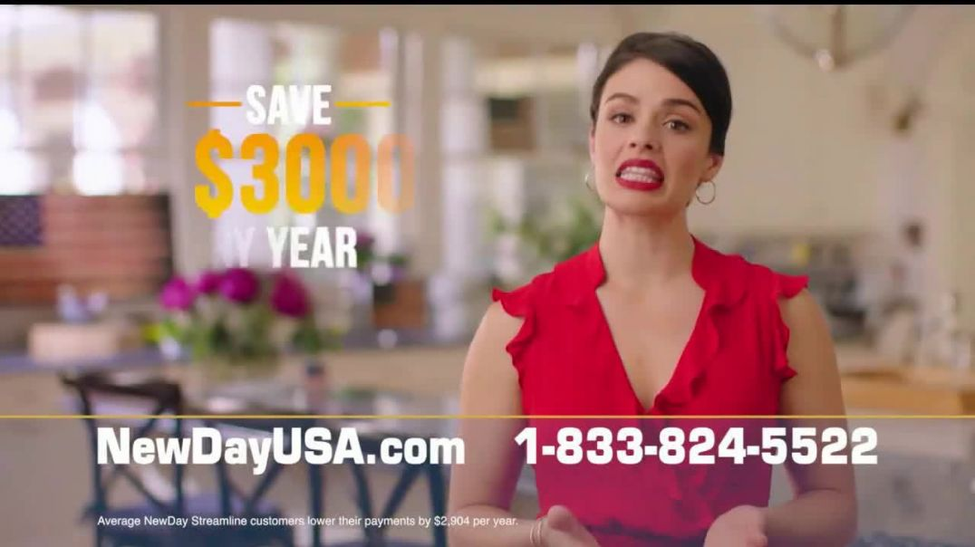 NewDay USA VA Streamline Refi TV Commercial Ad 2020, Record Low Mortgage Rates Even Lower