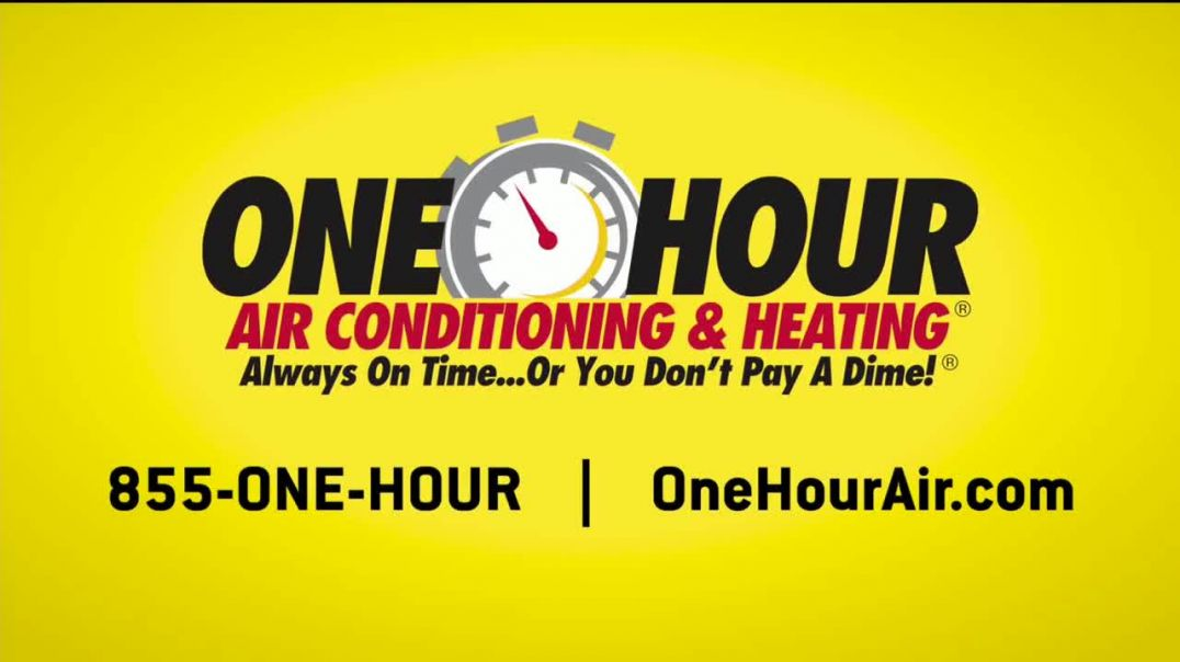 One Hour Heating & Air Conditioning TV Commercial Ad 2020, Thermostat
