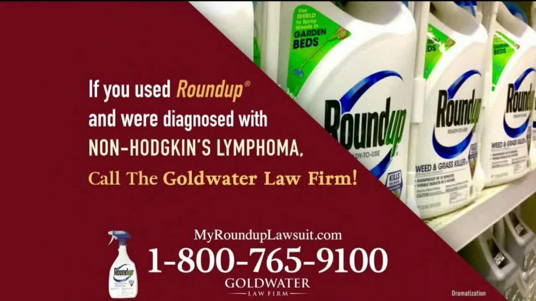 Goldwater Law Firm TV Commercial Ad 2020, Roundup- $10 Billion