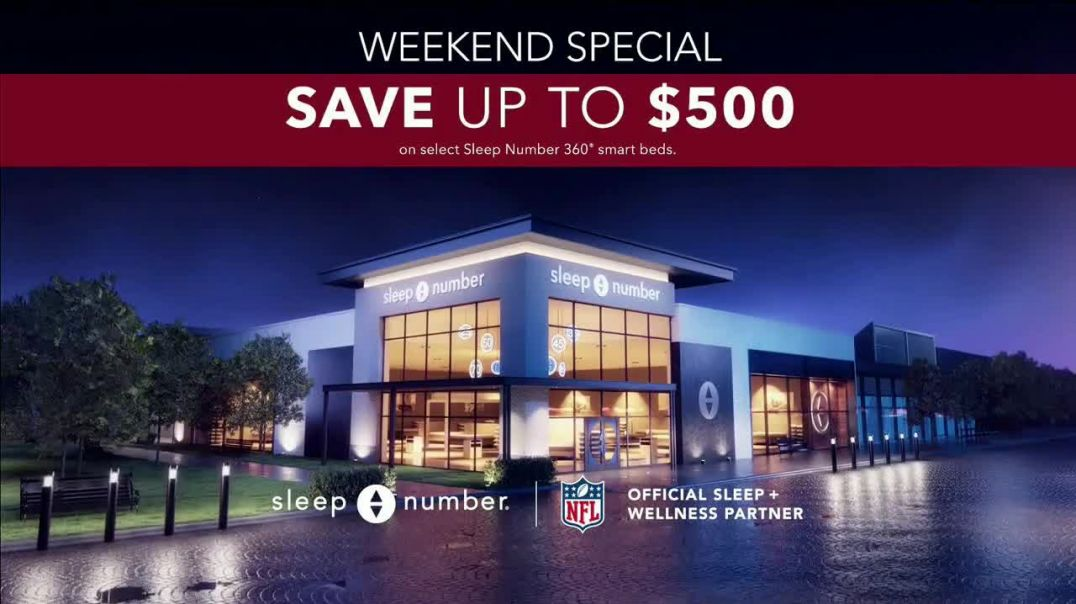 Sleep Number Weekend Special TV Commercial Ad 2020, Automatically Adjusts- Save up to $500