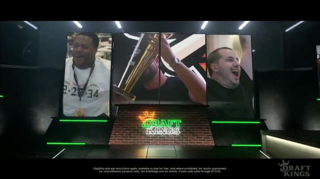 DraftKings TV Commercial Ad 2020, 4th and Inches
