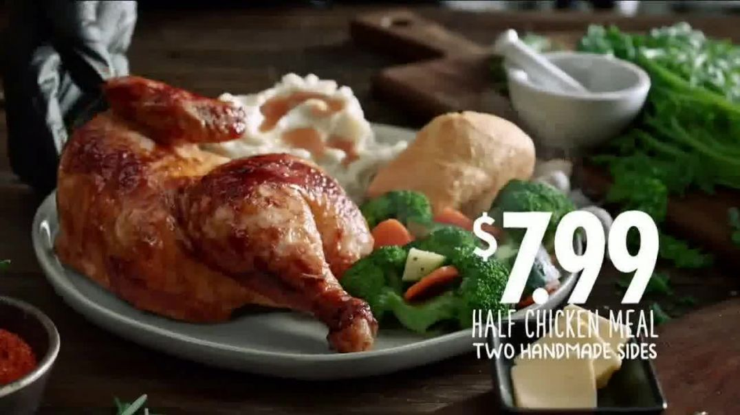 Boston Market Half Chicken Meal TV Commercial Ad 2020, Bakery for Bread
