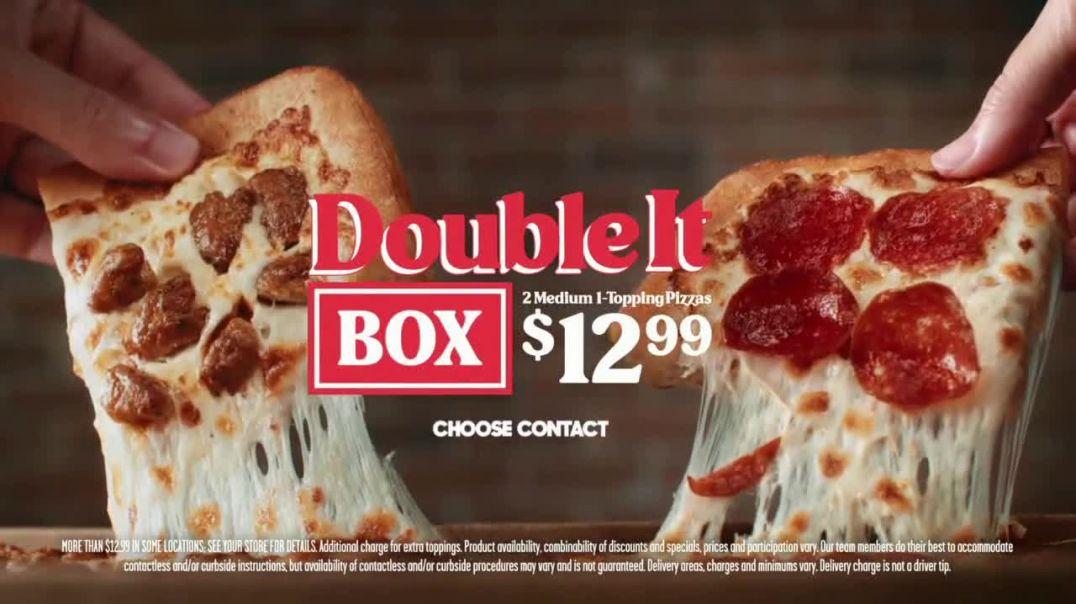 Pizza Hut Double It Box TV Commercial Ad 2020, Everyone Wins