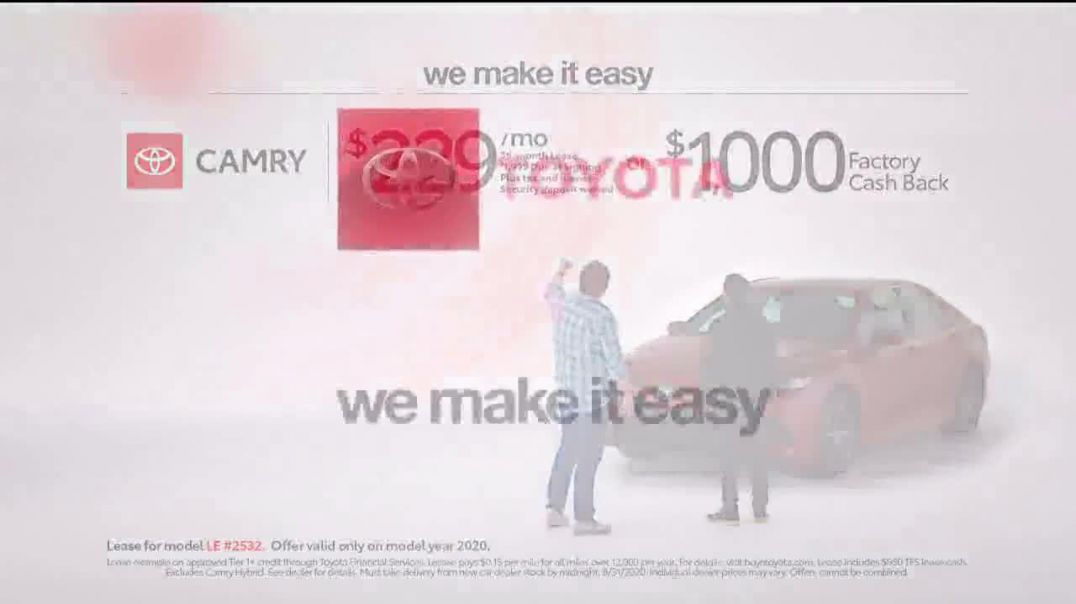 2020 Toyota Camry TV Commercial Ad 2020, A Big Step