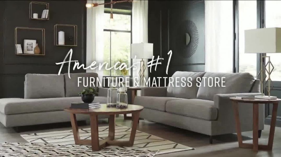 Ashley HomeStore Friends & Family Sale TV Commercial Ad 2020, 25 Percent- Buy Now, Pay L