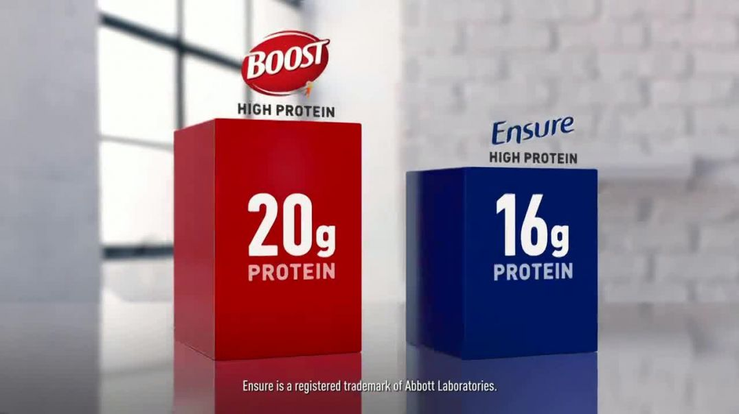 Boost High Protein TV Commercial Ad 2020, Age is Just a Number