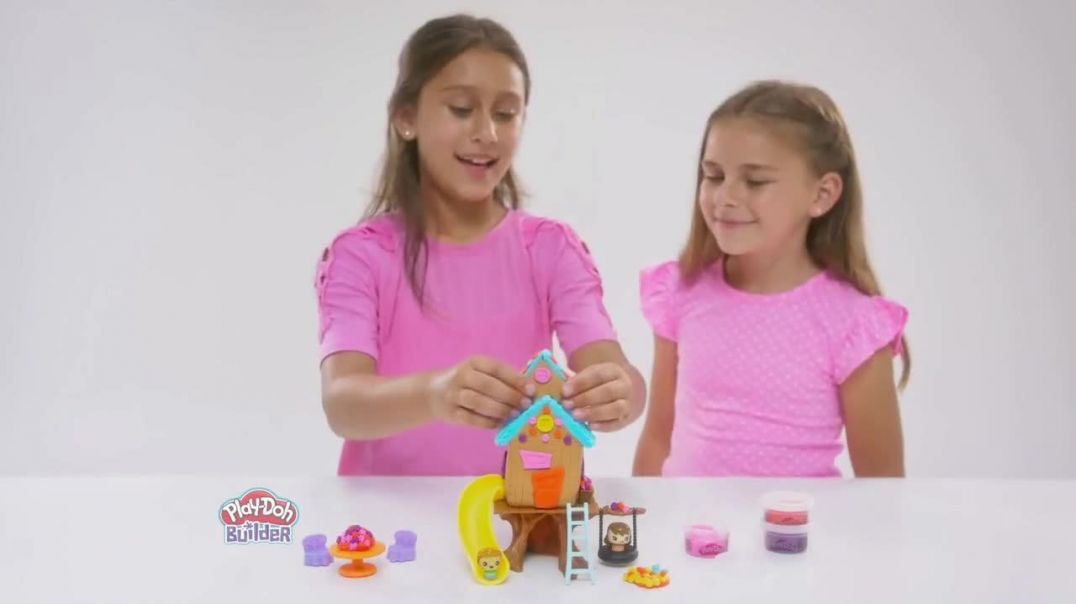 Play-Doh Builder Treehouse Kit TV Commercial Ad 2020, The Excitement Is Building