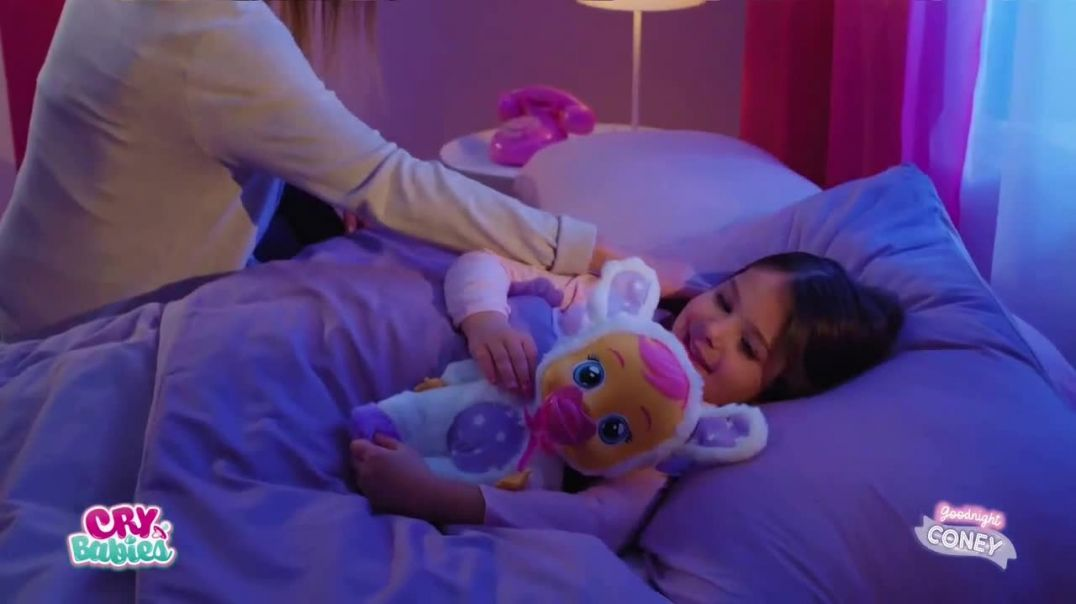 Cry Babies Goodnight Coney TV Commercial Ad 2020, Sweet Lullabies