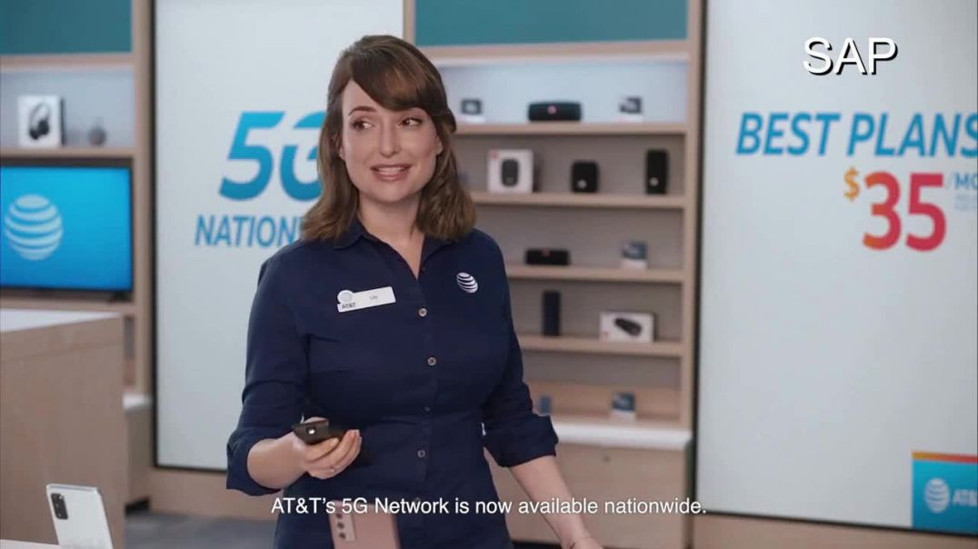 AT&T Wireless TV Commercial Ad 2020, Still a Thing- SAP