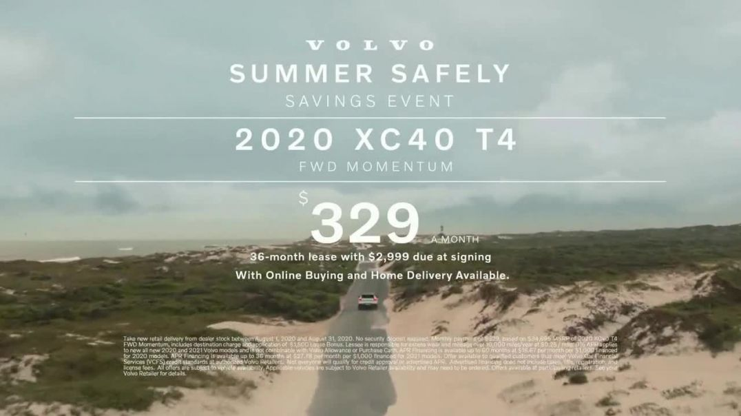 Volvo Summer Safely Savings Event TV Commercial Ad 2020, Safety Above Everything- XC40 Song by Marti
