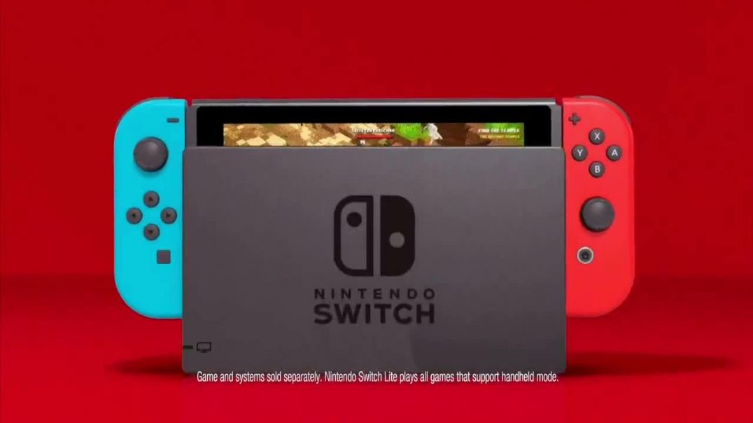 Nintendo Switch TV Commercial Ad 2020, My Way to Play- Minecraft Dungeons