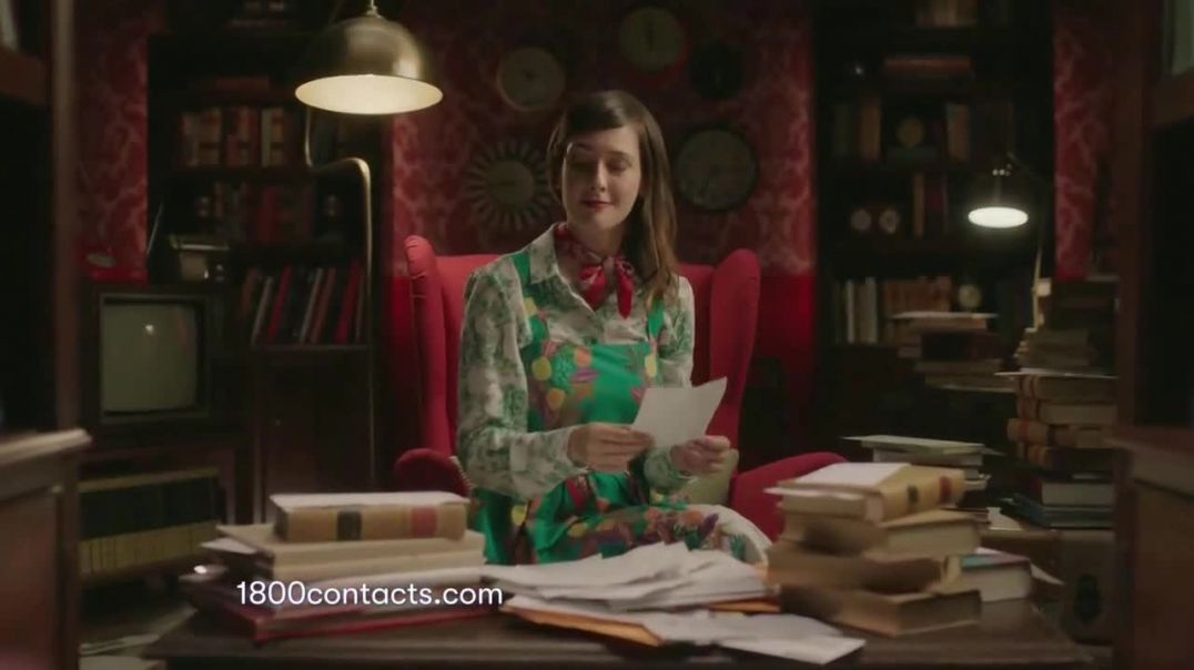 1-800 Contacts TV Commercial Ad 2020, Alison- Express Exam Online- 20 Percent Off