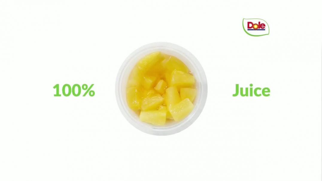 Dole Fruit Bowls TV Commercial Ad 2020, How About a Snack-